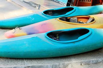 Canoes for rent. Pokhara-Nepal. 0758