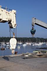 Port: entretien et services.