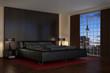 Modern Bedroom - Hotel Room - Shot 2