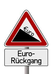 Euro-Rückgang