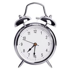Half of the eighth on an alarm clock