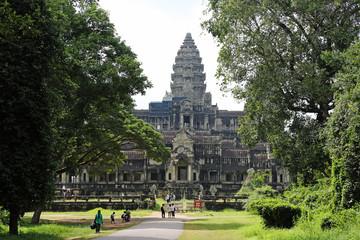 Angkor Watt Hintereingang