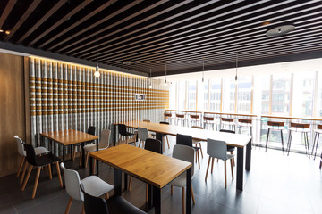 coffee bar interior