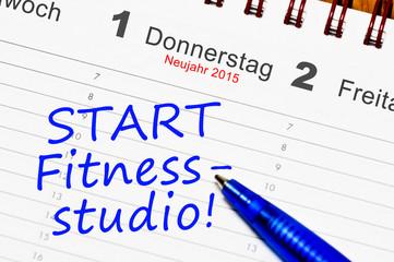 Start Fitnessstudio