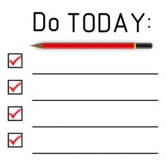Список дел на сегодня (Do today)