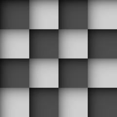 Seamless black and white checks wallpaper
