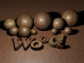 Biglie di legno