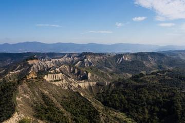 Bagnoregio, valley of gullies
