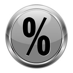 Button Prozent grau  #141209-svg48