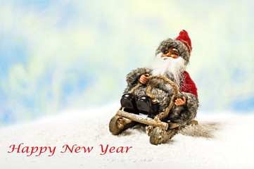 Cheerful Christmas Santa Claus Toy