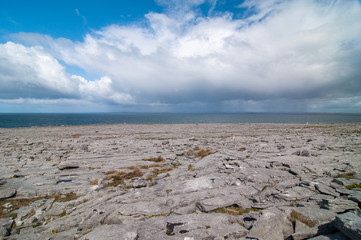Région du Burren en Irlande