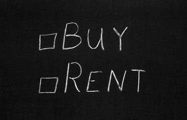 The choose buy or rent