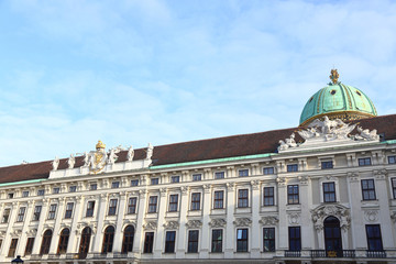 Imperial Chancellory Wing of Hofburg Palace Vienna