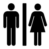 Photo: toilets icon