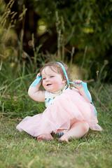 Baby Girl in Park