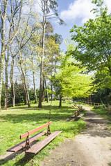 Botanical park in Vilagarcia de Arousa