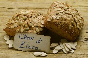 Pane ai semi di zucca Pan con semillas de calabaza Expo 2015