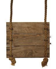 Hanging Wood Sign