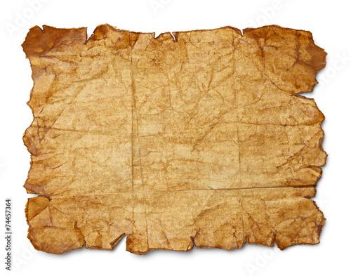 Leinwanddruck Bild Old Paper