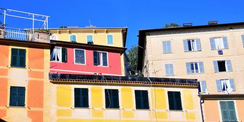 zoagli small village in Liguria, Italy