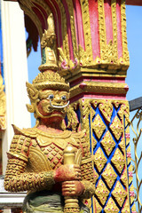 Thai temple guard