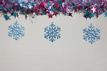 Estrellas azules de Navidad
