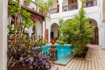 Marokko, Marrakesh Riad