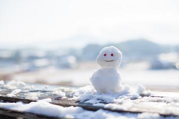 ちいさな雪だるま