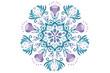 Vector Pattern Mandala Papua - 74461526