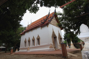 Temple at Wat kokaeo ketsadaram, Nakorn Luang, Ayutthaya