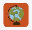 globe earth design