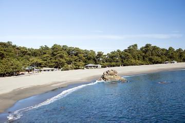 高知県、観光名所の桂浜です。