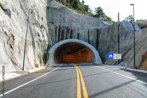 Fotobehang Tunnel Túnel