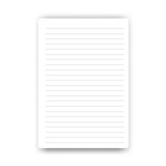 Blank Page notebook vector