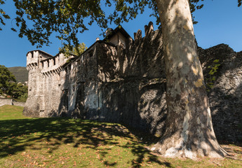 Visconteo Castle in Locarno
