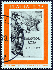 Title page of Diverse Figure, Salvator Rosa (Italy 1973)