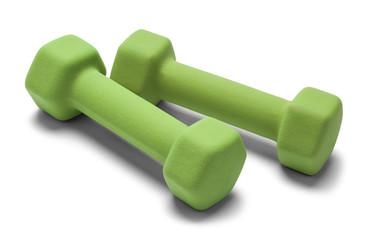 Green Hand Weights