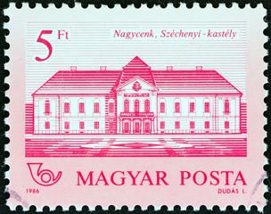 Szechenyi Castle, Nagycenk (Hungary 1986)