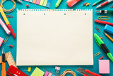 School office supplies - 74464336