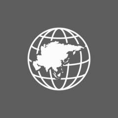 asia continent icon