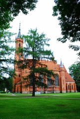 Church of the Blessed Virgin Mary in Druskininkai city