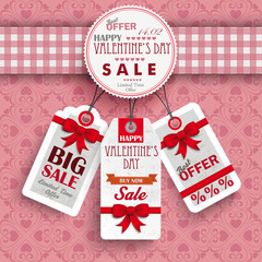 Emblem Valentinsday Price Stickers Ornaments