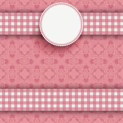 Emblem Double Cloth Valentinsday Ornaments
