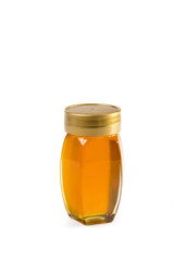 Small honey jar with cover