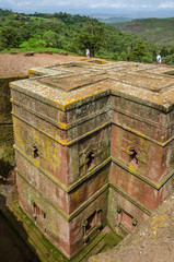 The church of Saint George, Lalibela, Ethiopia