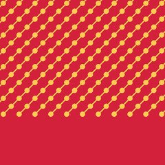 Line pattern, yellow dotted