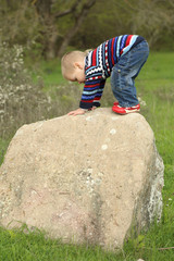 funny kid wins his first top of the rock