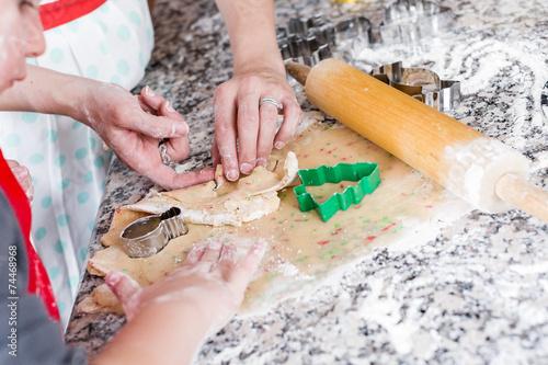 Deurstickers Koken Baking