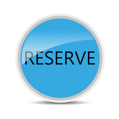 vector reserve icon on white background