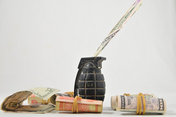 Money for War Concept